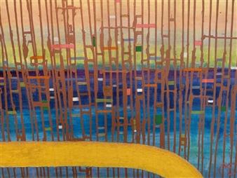 Marianne AuBuchon Devitt - Optimistic View Oil & Mixed Media on Canvas, Mixed Media