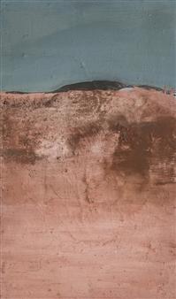 Israel Feldmann - Let the Land Appear Pigment on Plywood, Paintings