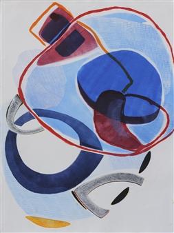 Donna Broder - Chrysalis #2 Monotype on Fine Art Paper, Prints