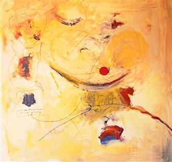 Clea von Döhren - La Lunas Web Acrylic on Canvas, Paintings