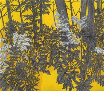 Su-Jeong NAM - Forest I Ink on Paper, Paintings