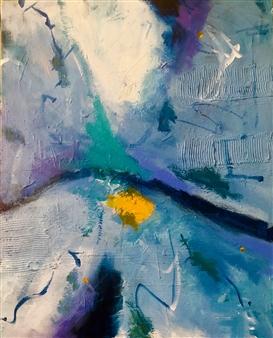 Paul Kittlaus - Untitled #156 Acrylic on Canvas, Paintings