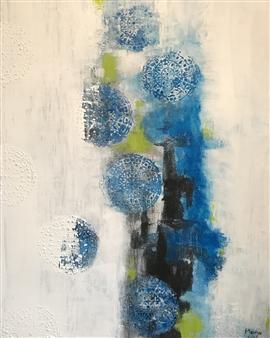 Mona Taqi - Optimism Acrylic on Canvas, Paintings