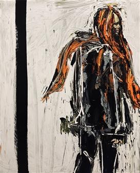 Nick Bautista - Metaphor, part 2 Acrylic on Canvas, Paintings
