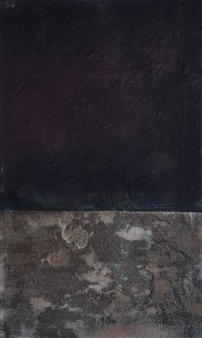 Israel Feldmann - Darkness Upon the Deep Pigment on Plywood, Paintings