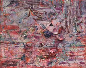 Denel-KK (Kristen Keeling) - Brighter Mirror Mixed Media on Canvas, Mixed Media
