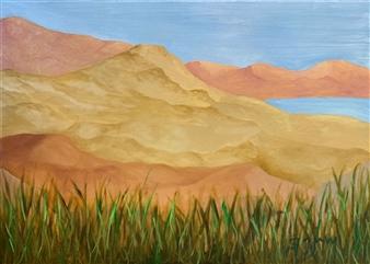 Marc Provisor - Overlook Oil on Canvas, Paintings