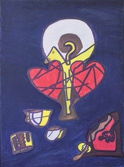 Yotta - The  Love Enigma Oil on Canvas, Paintings