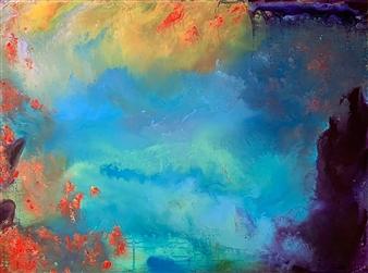 Jodi DeCrenza - Passage Acrylic on Canvas, Paintings