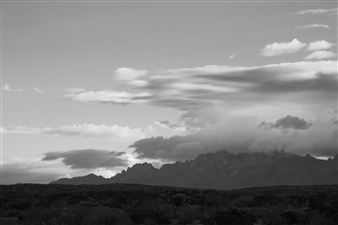 Paris Gray - Crags and Clouds Photograph on Fine Art Paper, Photography