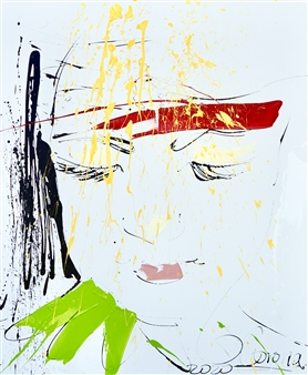 G Corona - Give Acrylic on Canvas, Paintings