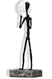 Pablo Serrano - Accountant Bronze, Sculpture