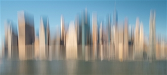 Gottfried Roemer - New York East Side Manhattan Photograph on Aluminum, Photography