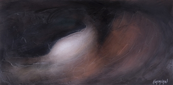HERMINE - Transparency of a Farewell Acrylic & Ink on Canvas, Paintings