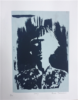 Renee Johannes - Yang Silkscreen Print, Prints