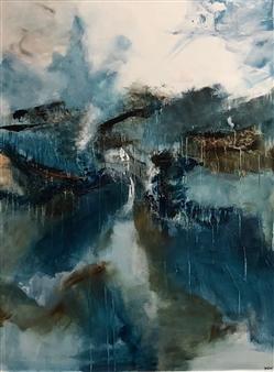 Katja Yoon - Freedom Acrylic on Canvas, Paintings