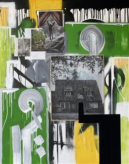 William Atkinson - Heart of the Matter Mixed Media on Canvas, Mixed Media