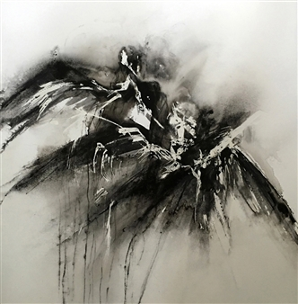 Dana Ingesson - Symphony of Angels Watercolor on Paper, Paintings