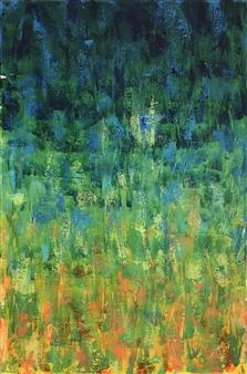Travis Ballantyne - Swampy Sunset Acrylic on Canvas, Paintings