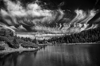 Gianluca Pollini - Colbricon Lake Photograph on Fine Art Paper, Photography