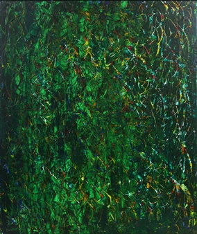 Jaeseok Kim - Secret Garden 1 Acrylic on Canvas, Paintings