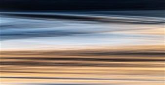 Renzo Sanchez-Silva - Sand Reflections Metal Print, Photography