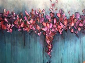 Tiffany Reid - He Loves Me Acrylic on Canvas, Paintings