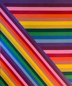 Jolie Dueñas - Chromatic Acrylic on Canvas, Paintings