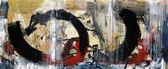 KEO - Passage II Acrylic & Ink on Canvas, Paintings