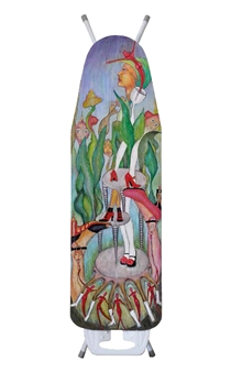 Christine Stettner - From the Roots of an Ironing Board Acrylic on Wood, Paintings