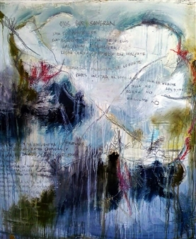 Luisa Vicente Isola - Sin Titulo lV Acrylic on Canvas, Paintings
