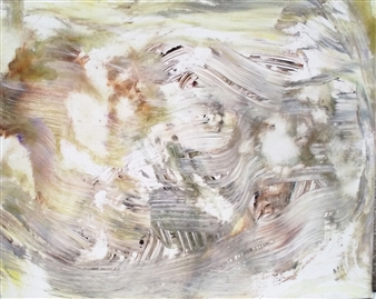 Makoto Oshima - No. 210423 Acrylic on Canvas, Paintings