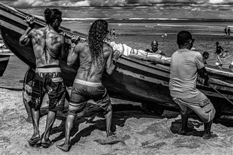 Roberto Silva - Jericoacoara Beach Archival Pigment Print, Photography