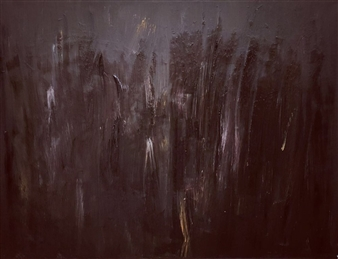(Jenny) Hao Xu - Dark Haze Acrylic on Canvas, Paintings