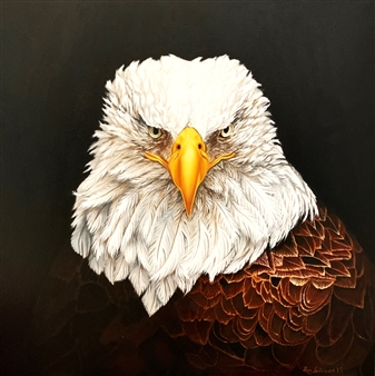 Pamela Sullivan - Barrie Oil on Canvas, Paintings