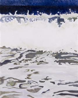 Gabriella Mirabelli - Nauset #2 Acrylic on Canvas, Paintings