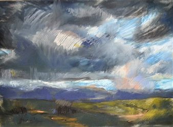 Rebecca Rath - Ideas of Wilderness Soft Pastel on Fabiano Paper, Paintings