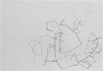 Marek Wasylewicz - VvA-J Pencil on Paper, Drawings