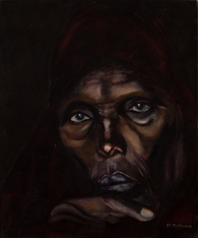 Britt-Marie Tidemand - Wonder Oil on Canvas, Paintings