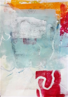 Claudia Mini - Wandering Thoughts Monotype, Paintings
