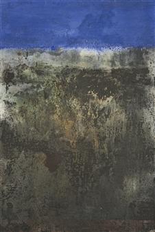 Israel Feldmann - Genesis Pigment on Plywood, Paintings