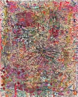 Denel-KK (Kristen Keeling) - Lost Memory Mixed Media on Canvas, Mixed Media