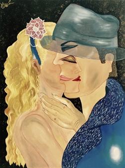 Miss C - Genesis Oil on Canvas, Paintings