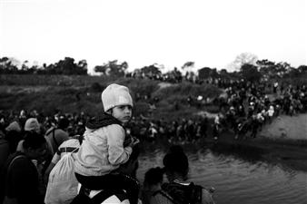 Ada Luisa Trillo - Girl Crossing the Border Archival Pigment Print, Photography