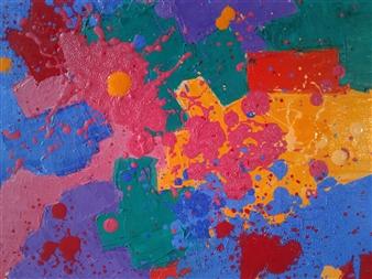 Mario España - Morning Oil on Canvas, Paintings