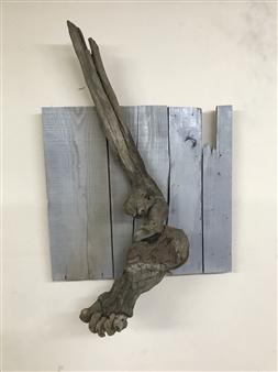 Akemi Fujita - Go Wood, Sculpture