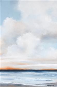 Elizabeth Sabine - Seascape No. 81 Oil on Canvas, Paintings