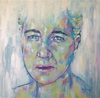 Grady Zeeman - Grace of a Woman Oil on Canvas, Paintings