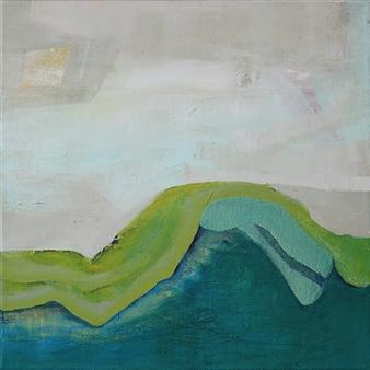 Gerlinde Amei Wöllmer - Landscape Acrylic on Canvas, Paintings