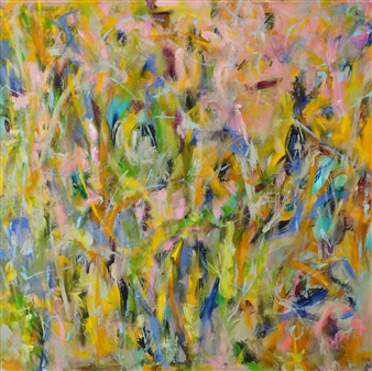 Sari Moilala - The Living Moorland 2 Acrylic on Canvas, Paintings